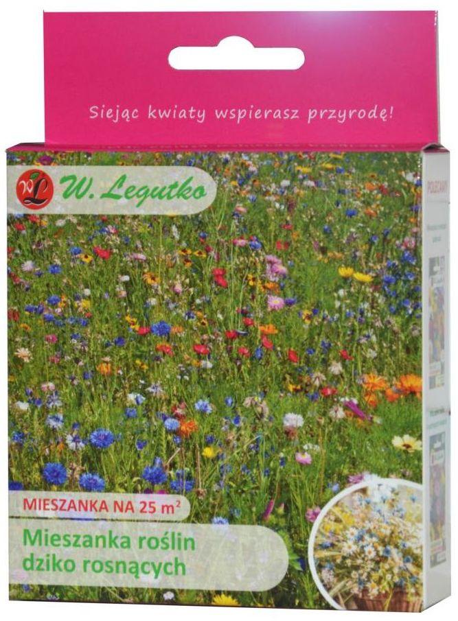 Nasiona roślin dziko rosnących 125 g / 25 m2 W.LEGUTKO