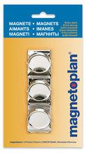 Klips magnetyczny metalowy 35 mm 3szt blister