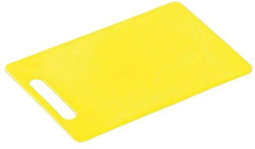 Kesper plastikowa deska do krojenia 24 x 15 x 0,5 cm żółta