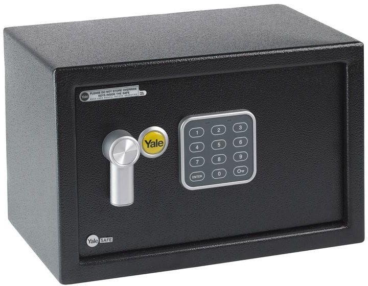 Sejf elektroniczny YEC/200/DB1 z ALARMEM