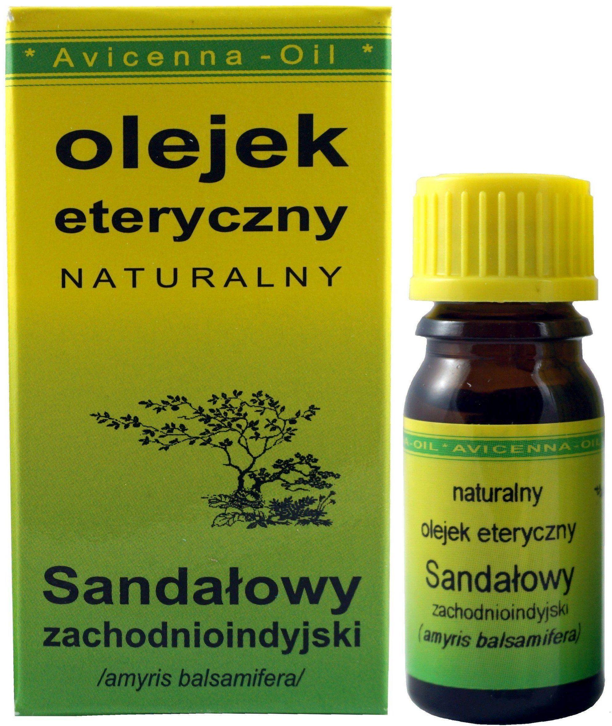 Olejek eteryczny Sandałowy - 7ml - Avicenna Oil