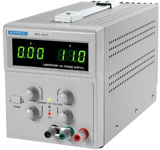 Zasilacz laboratoryjny z regulacja napięcia i prądu Kanały:1 0-30V 3A