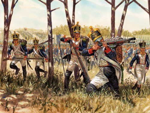 Italeri 510006066 - 1:72 Wojny napoleońskie, Franz piechoza