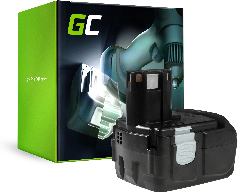 Bateria Green Cell (2Ah 18V) BCC 1815 BCL 1815 BCL BCL 1820 1825 BCL 1830 EBM1830 do Hitachi DV 18L 18DL C18DL CJ18DL CR18DL