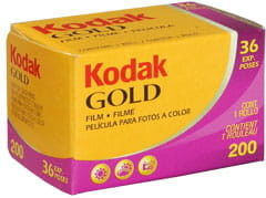 Film Kodak Gold 200 135/36