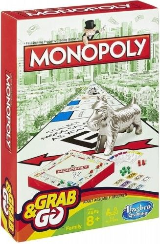 Gra Monopoly Grab and Go