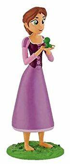 Księżniczki - figura krótkie włosy lalki Roszpunki (BULLYLAND 1)