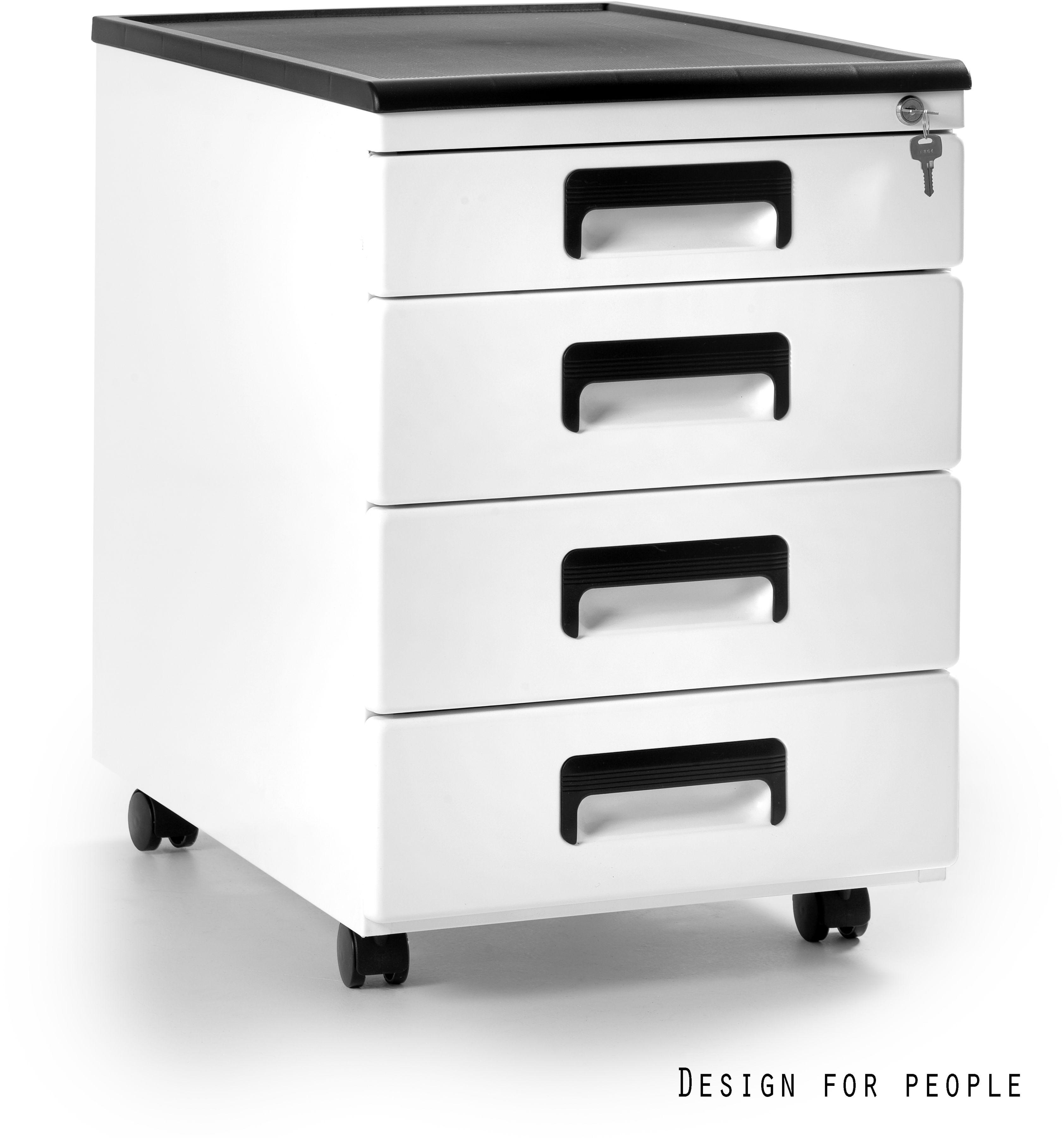 Kontener biurowy 40x56x58 cm 325-W biały