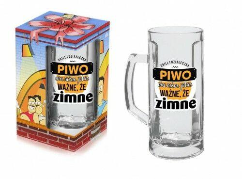 Kufel Beer Time, Piwo nie ważne jakie, ważne że zimne