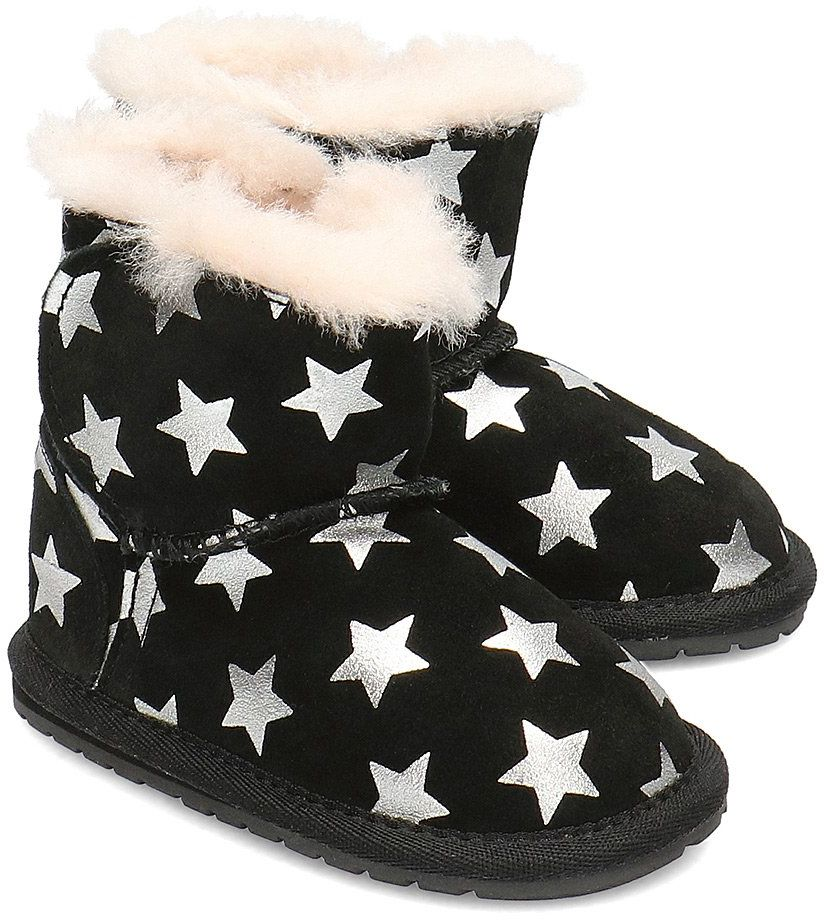 Emu Australia Toddle Starry Night - Kozaki Dziecięce - B11857 BLACK