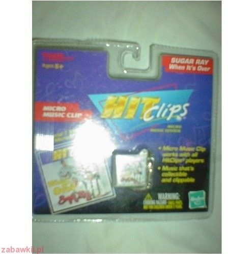 Hasbro Hit Clips Cartridge 59610 Zabawka HCL chip do radia