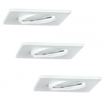 Zestaw 3 oczek OLIN 3x3,5W LED 305862 Biały POLUX/SANICO
