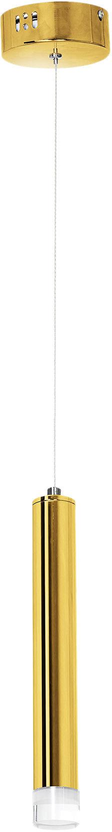 Milagro GOLDIE ML5713 lampa wisząca metalowa złota błyszczące wykończenie klosz podłużny 4000K 5W LED