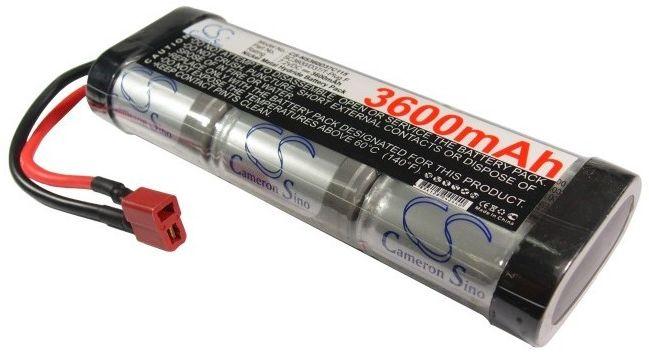 3600mAh 25.92Wh Ni-MH 7.2V 6S SC Deans / T-Plug (Cameron Sino)