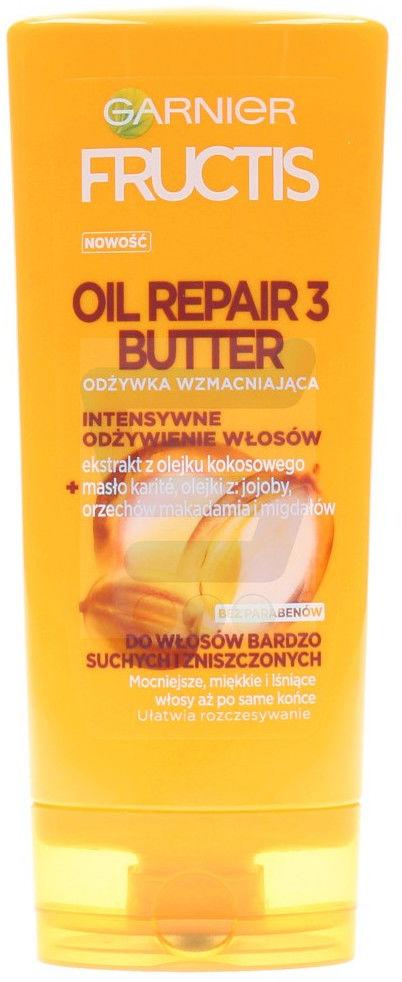 Garnier Fructis Oil Repair 3 Butter szampon do włosów bardzo suchych i zniszczonych 400ml