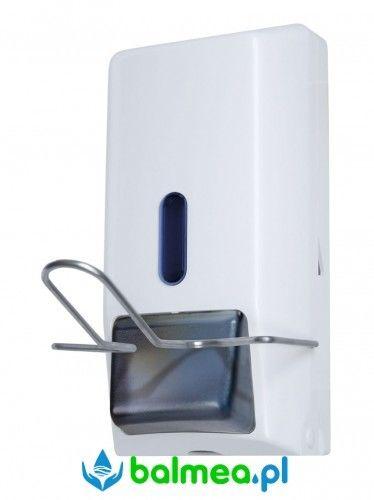 Dozownik łokciowy do mydła w płynie i żelu dezynfekującego