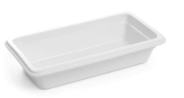 Pojemnik GN 1/3, gł. 6,5 cm porcelanowy biały
