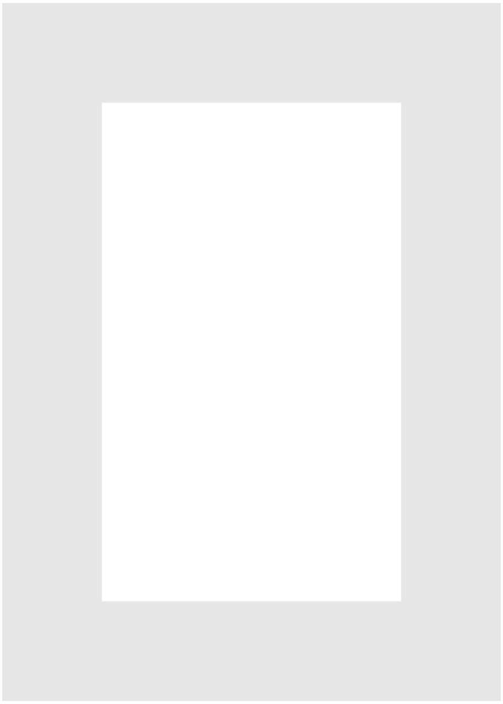 Passe-partout 148 białe 15 x 21 cm