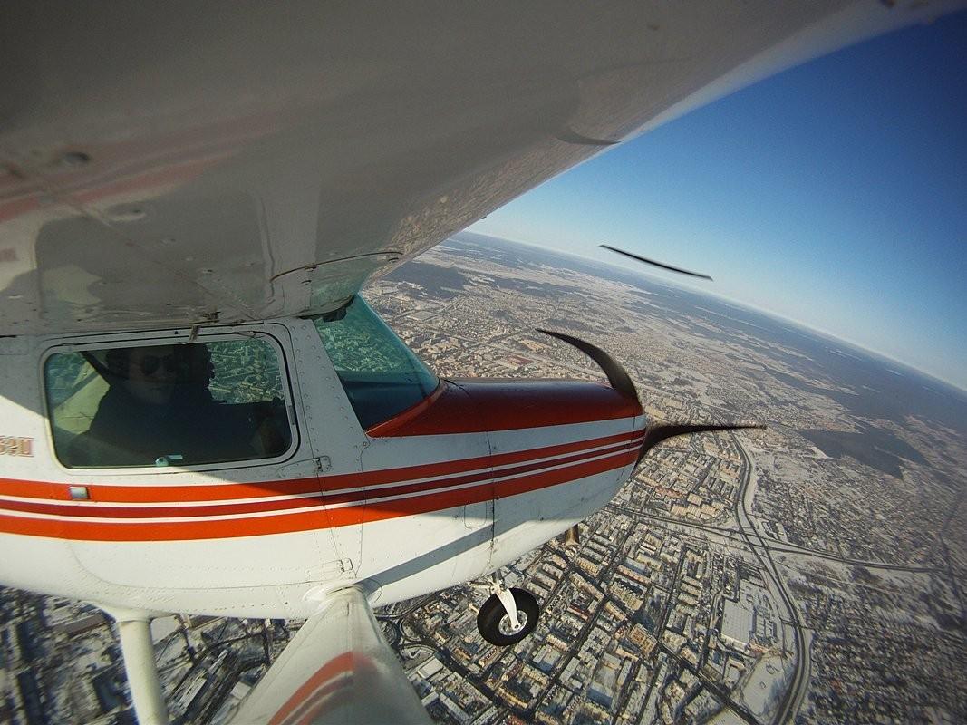 Lot Awionetką Cessna 152  Białystok