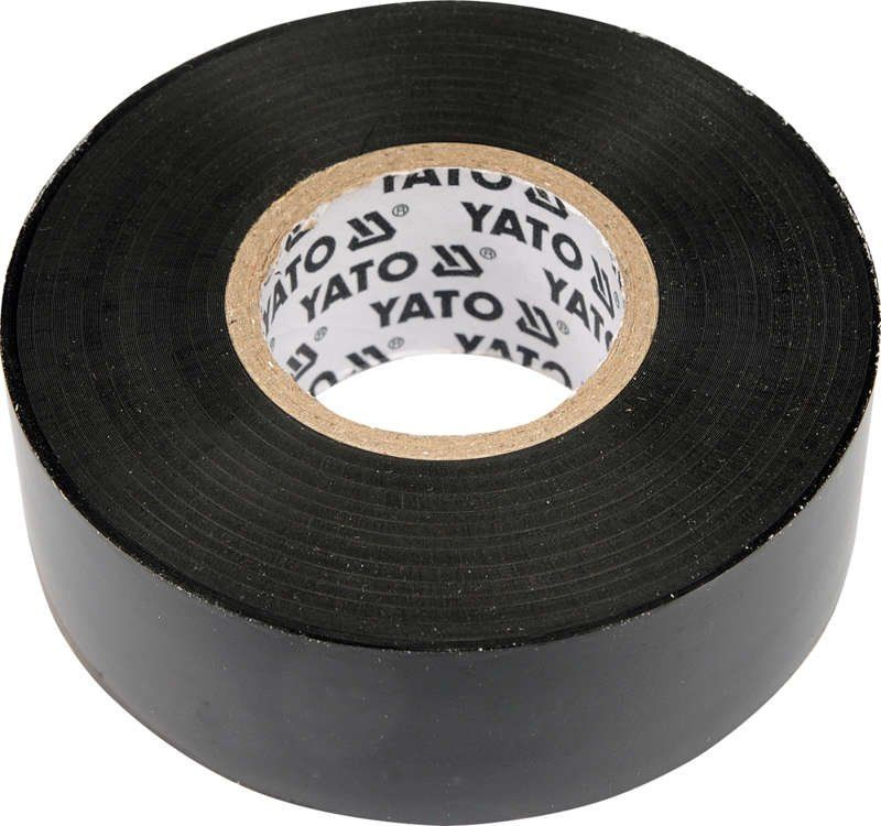 Taśma elektroizolacyjna 12mmx10mx0,13mm, czarna Yato YT-8152 - ZYSKAJ RABAT 30 ZŁ