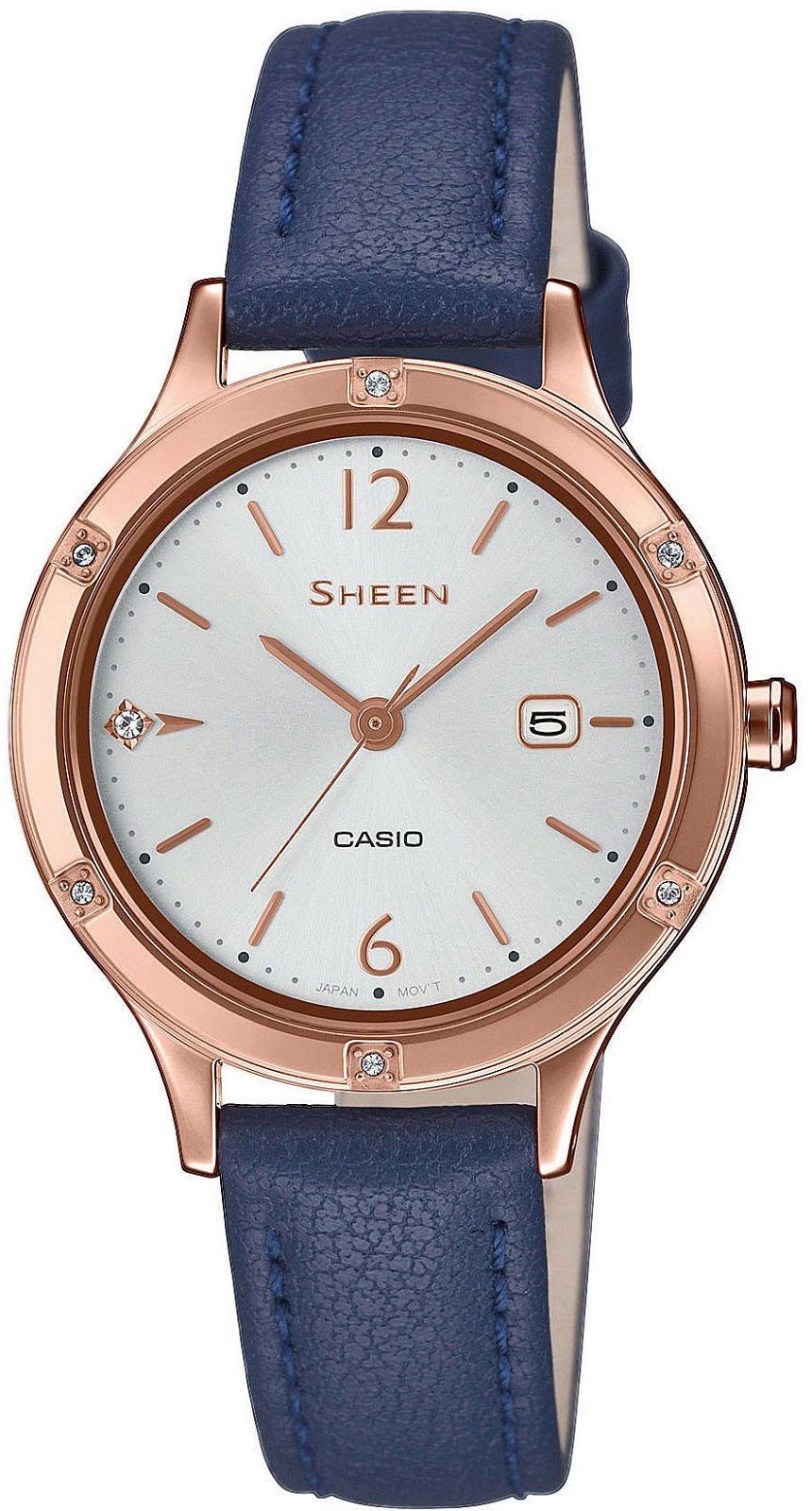 CASIO Sheen SHE-4533PGL-7BUER > Wysyłka tego samego dnia Grawer 0zł Darmowa dostawa Kurierem/Inpost Darmowy zwrot przez 100 DNI