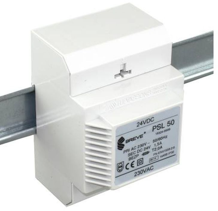 Zasilacz transformatorowy PSL 50 230VAC/24VDC 36W 1,5A 18324-9999