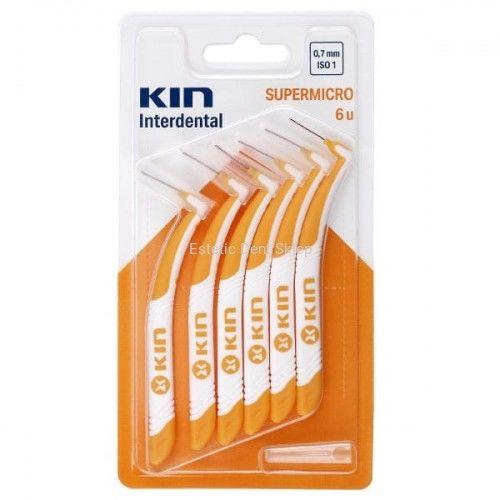 KIN Supermicro 0,7mm - szczoteczka do przestrzeni międzyzębowych 6 sztuk