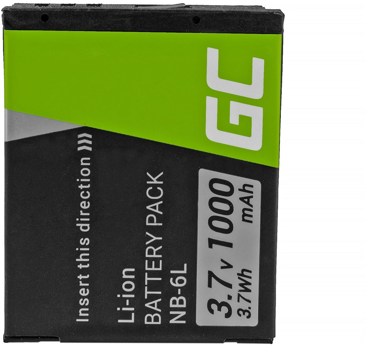 Akumulator Bateria Green Cell  NB-6L do Canon PowerShot ELPH 500HS SX 240HS 260HS 270HS 280HS 510HS 520HS 530HS 3.7V 1000mAh
