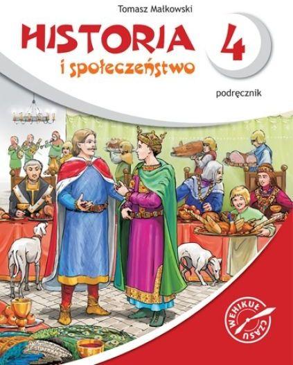 Historia i społeczeństwo kl.4 sp-podręcznik+cd