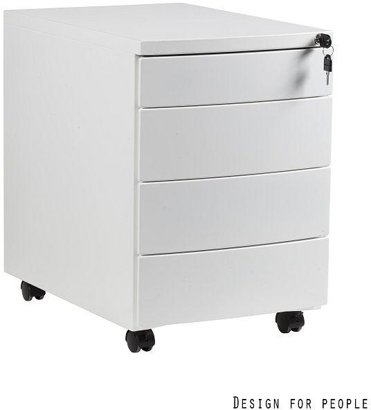 Kontener biurowy 39x56x56 cm RP-04-W biały
