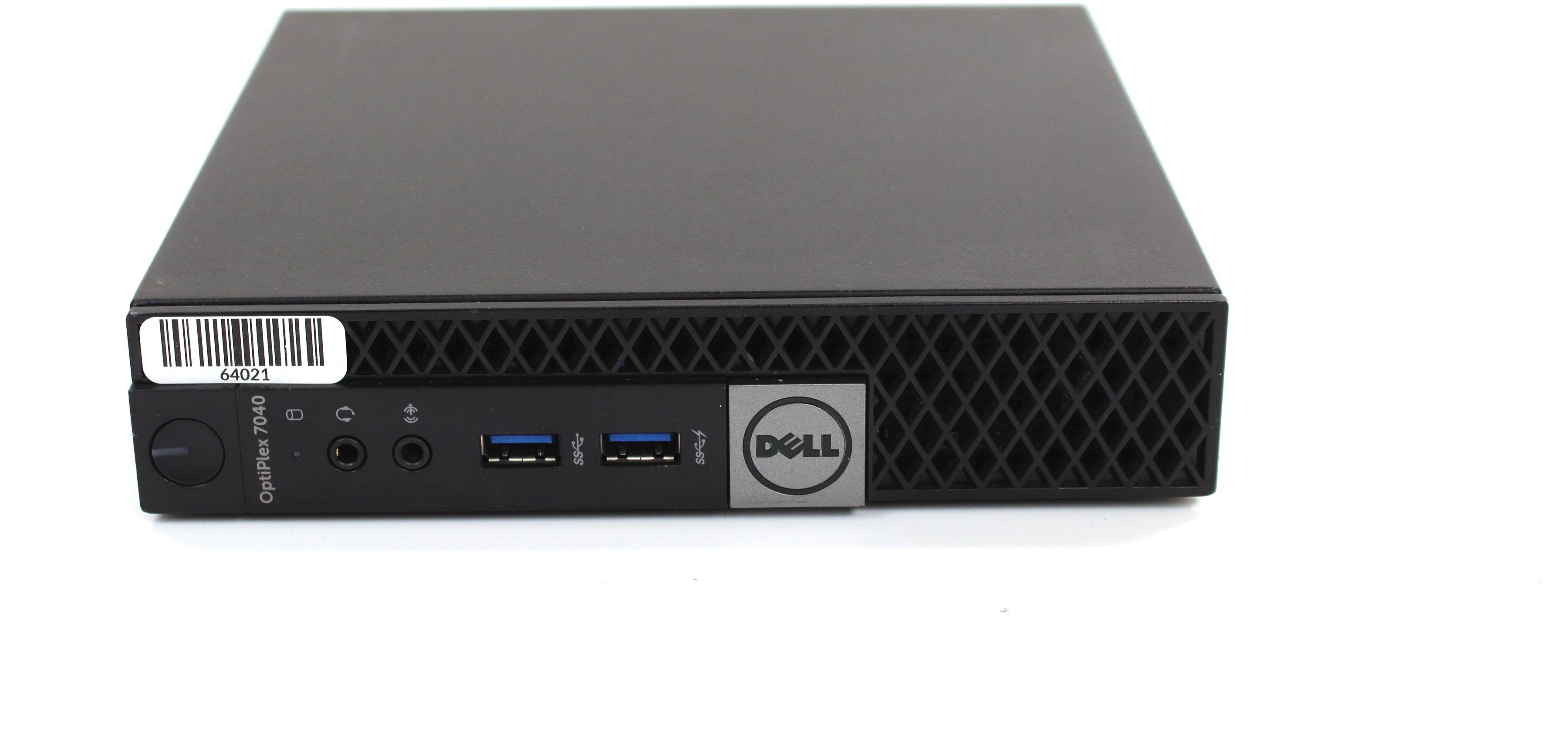 Komputer Dell OptiPlex 7040 Micro i5-6500T 4x3,10GHz 8GB 240GB SSD Windows 7/8/10 Professional