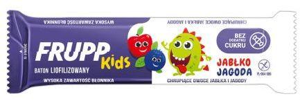 Baton jabłko-jagoda dla dzieci bezglutenowy 10 g Frupp