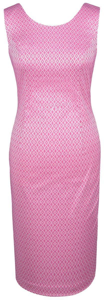 Sukienka FSU682 AMARANTOWY JASNY