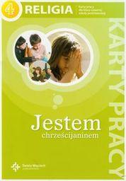 Religia jestem chrześcijaninem karty pracy dla klasy 4 szkoły podstawowej AZ-21-01/10/P0-1/11 ZAKŁADKA DO KSIĄŻEK GRATIS DO KAŻDEGO ZAMÓWIENIA