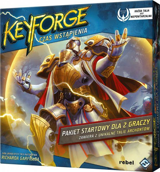 KeyForge: Czas Wstąpienia - Pakiet startowy REBEL ZAKŁADKA DO KSIĄŻEK GRATIS DO KAŻDEGO ZAMÓWIENIA