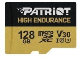 Patriot Karta microSDHC 128GB V30 High Endurance