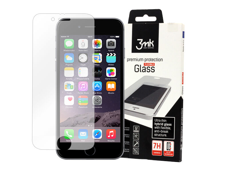 Apple iPhone 6s - szkło hartowane 3MK Flexible Glass