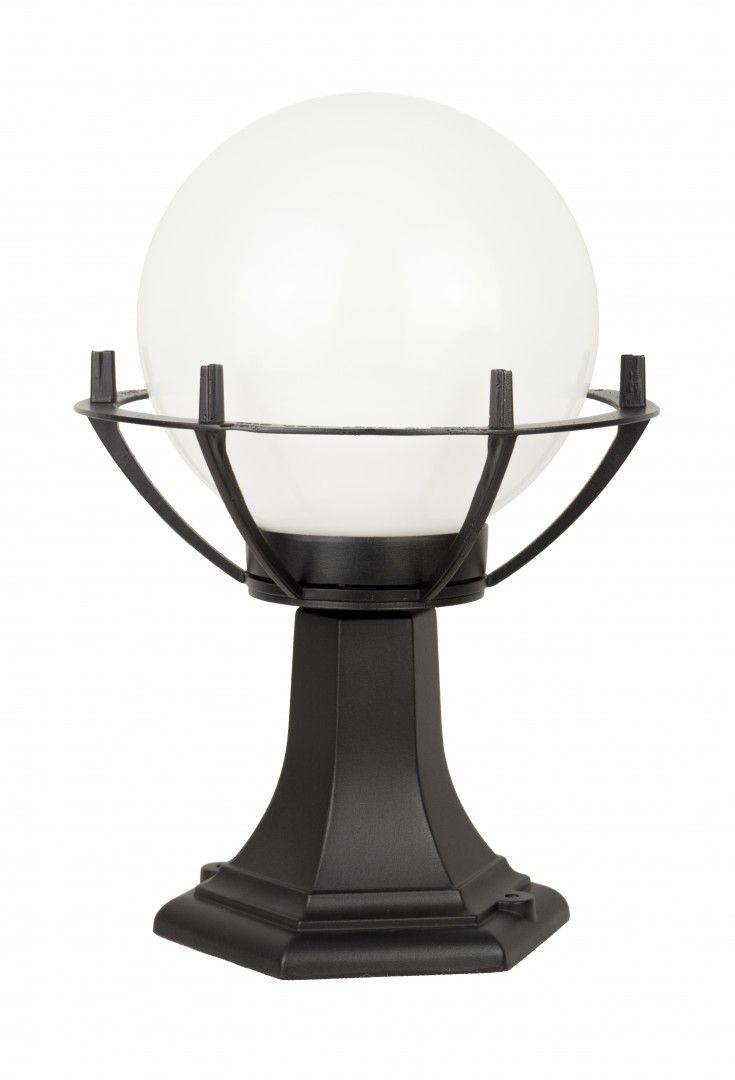 Lampa stojąca ogrodowa Kule z koszykiem 200 K 4011/1/KPO Czarny lub patyna IP43 - Su-ma Do -17% rabatu w koszyku i darmowa dostawa od 299zł !