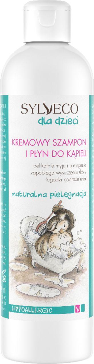 Kremowy szampon i płyn do kąpieli dla dzieci - 300ml - Sylveco