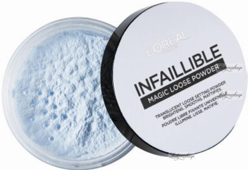 L''Oréal - INFAILLIBLE MAGIC LOOSE POWDER - Puder do twarzy - Transparentny