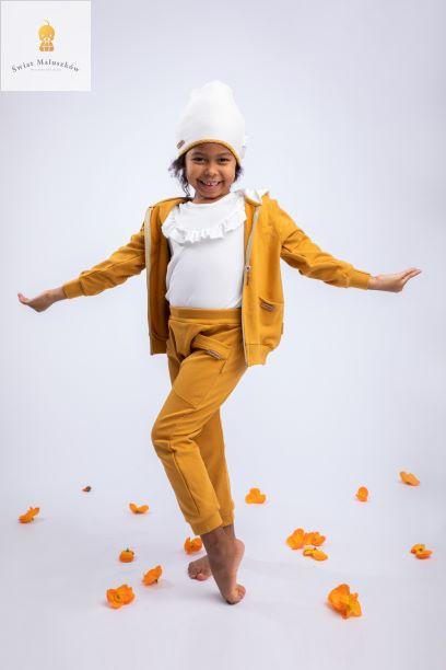 Spodnie dresowe typu baggy dla dziewczynki Michalina NICOL