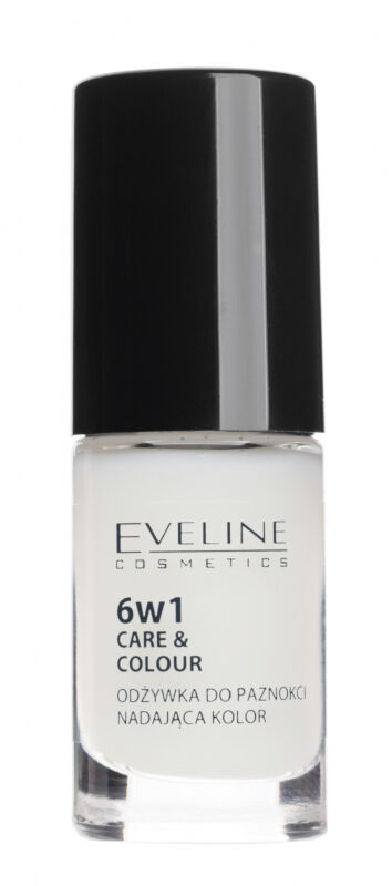Eveline Cosmetics - NAIL THERAPY PROFESSIONAL 6in1 Care&Colour Conditioner - Odżywka do paznokci nadająca kolor - FRENCH