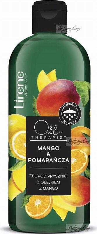 Lirene - Oil Therapist - Żel pod prysznic z olejkiem mango - Mango & Pomarańcza - 400 ml
