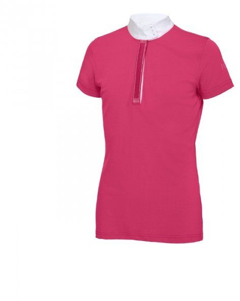 Koszulka konkursowa młodzieżowa PIKEUR - ALEXIA - pink
