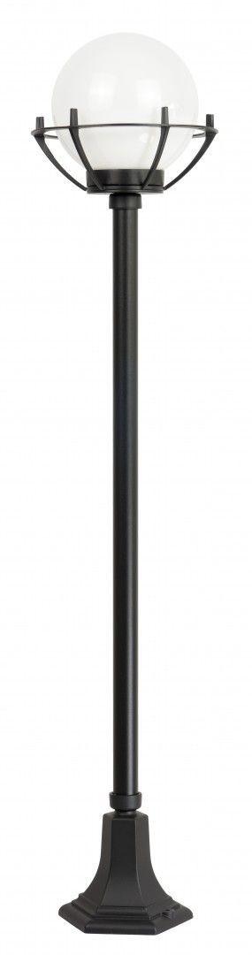 Lampa stojąca ogrodowa Kule z koszykiem 200 K 5002/1/KPO Czarny lub patyna IP43 - Su-ma Do -17% rabatu w koszyku i darmowa dostawa od 299zł !
