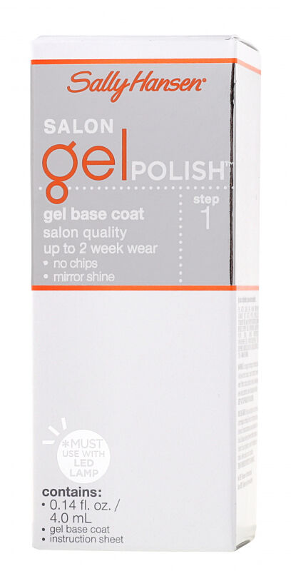 Sally Hansen - SALON GEL POLISH - Baza pod lakier żelowy