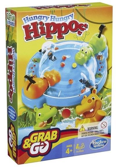 Gra Hungry Hungry Hippo Grab and Go