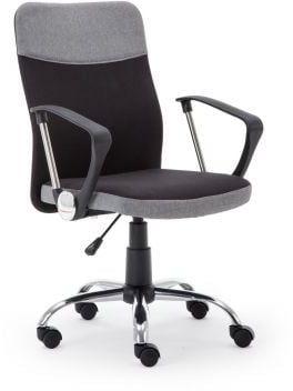 Fotel biurowy TOPIC czarny/szary  Kupuj w Sprawdzonych sklepach