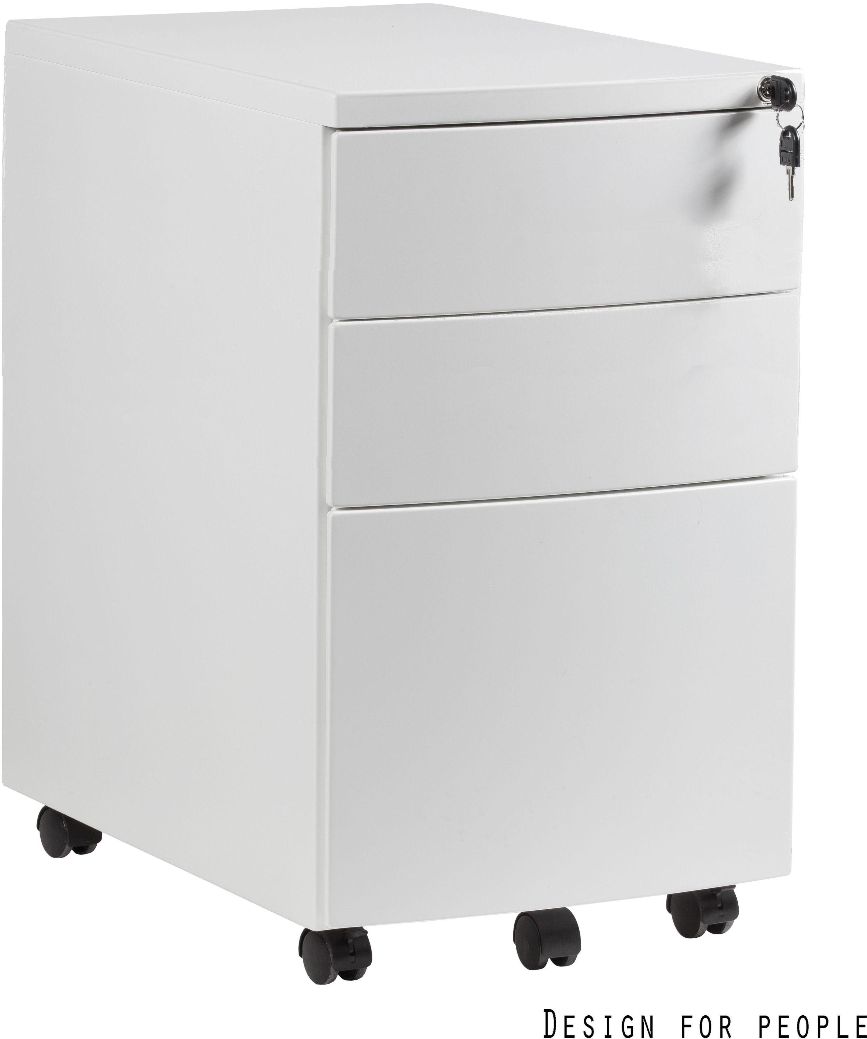 Kontener biurowy 39x56x64 cm RPH-01-W biały