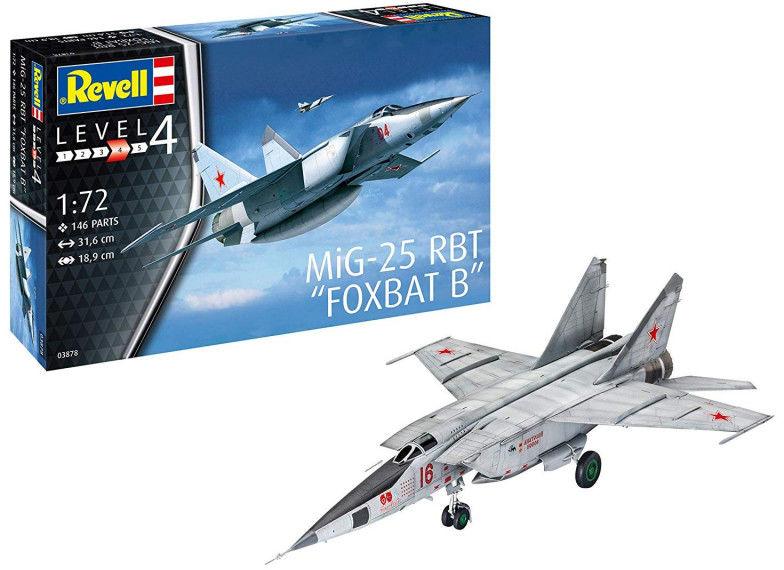Model plastikowy MiG-25 RBT
